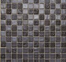 Dekorativni stakleni mozaik Pandora Ferro
