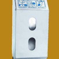 Inox nosač za toaletni papir dupli