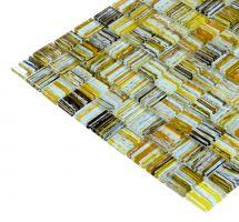 Mozaik pločice staklene multicolor