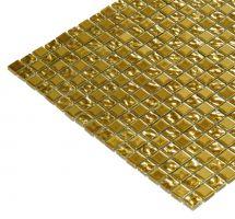 Mozaik pločice staklene zlatne