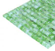 Mozaik pločice staklene zelene