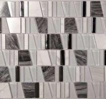 Dekorativne mozaik pločice Asi Gris