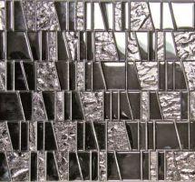 Staklene mozaik pločice Asi Inox