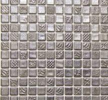 Staklene mozaik pločice Pandora Silver