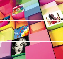 Zidni dekor Colours Cuadro